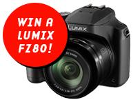 Win a Panasonic Lumix FZ80!