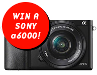 Win a Sony a6000 with 16-50mm!