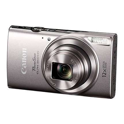Canon PowerShot ELPH 360 HS Digital Camera - Silver