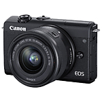 Canon EOS M200 Mirrorless Digital Camera with 15-45mm Lens Kit (Black)