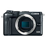 Canon EOS M6 Mirrorless Digital Camera Body Only - Black