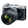 Canon EOS M6 Mirrorless Camera with 18-150mm f/3.5-6.3 IS STM Lens - Silver