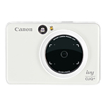 Canon IVY Cliq+ Instant Camera Printer + App (Pearl White)