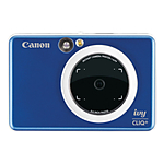 Canon IVY Cliq+ Instant Camera Printer + App (Sapphire Blue)