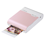 Canon SELPHY Square QX10 Compact Photo Printer (Pink)