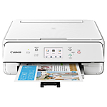 Canon PIXMA TS6120 Wireless All-in-One Inkjet Printer - White