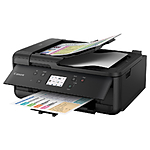 Canon PIXMA TR7520 Wireless Home Office All-in-One Inkjet Printer - Black