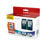 Canon PG-240XL Black/CL-241XL Color with GP-502 (50 Sheet Pack)