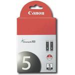 Canon PGI-5BK Twin Pack for Canon Pixma MP600 MP970 and iP3500 Printer