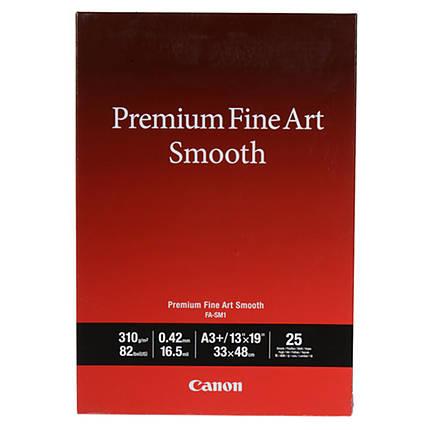 Canon 13x19 Premium Fine Art Smooth Paper - 25 Sheets