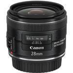 Canon EF 28mm f/2.8 IS USM Wide Angle Lens - Black