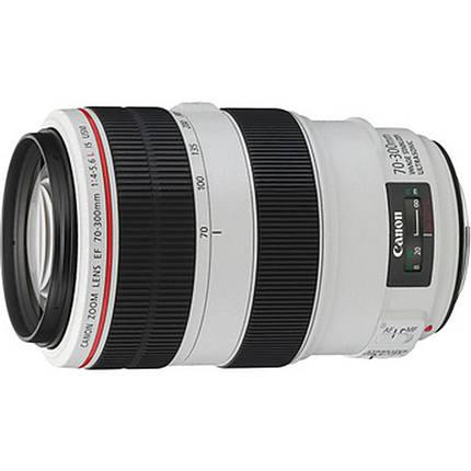 Canon EF 70-300mm f/4-5.6L IS USM Telephoto Zoom Lens - White