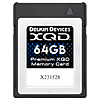 Delkin Devices Premium 64GB XQD Version 2.0 Memory Card 2933X
