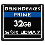 Delkin Devices 32GB 1050X Compact Flash UDMA 7 Cinema Memory Card