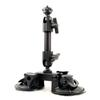 Delkin Devices Fat Gecko Double Knuckle Dual Suction Cup Camera Mount