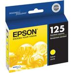 Epson 125 Yellow Ink Cartridge for Stylus Nx125, Nx127, Nx230 Printers