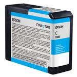 Epson T580200 UltraChrome K3 Cyan Ink 80ml for Stylus Pro 3800 and 3880