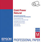 Epson 44x50 Cold Press Natural Smooth Matte Paper - Roll
