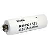 Exell A19PX 4.5V Alkaline Battery (Replaces ANSI / NEDA-1307AP  and  IEC-3LR50)