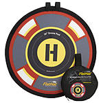 ExpoImaging - FlatHat 16 inch (40cm) Drone Pad - Gold Red