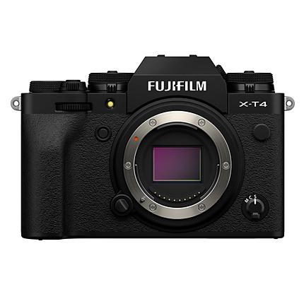 Fujifilm X-T4 Mirrorless Digital Camera (Body Only, Black)