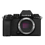 FUJIFILM X-S10 Mirrorless Camera (Body Only, Black)