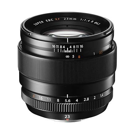 Fujifilm Fujinon XF 23mm f/1.4 R Premium Wide Angle Lens - Black
