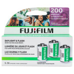 Fujifilm 135 Superia 200 ASA   - 36 Exposures - 3 Rolls  CA-135-36 3 PACK