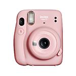Fujifilm Instax Mini 11 Instant Print Film Camera (Blush Pink)