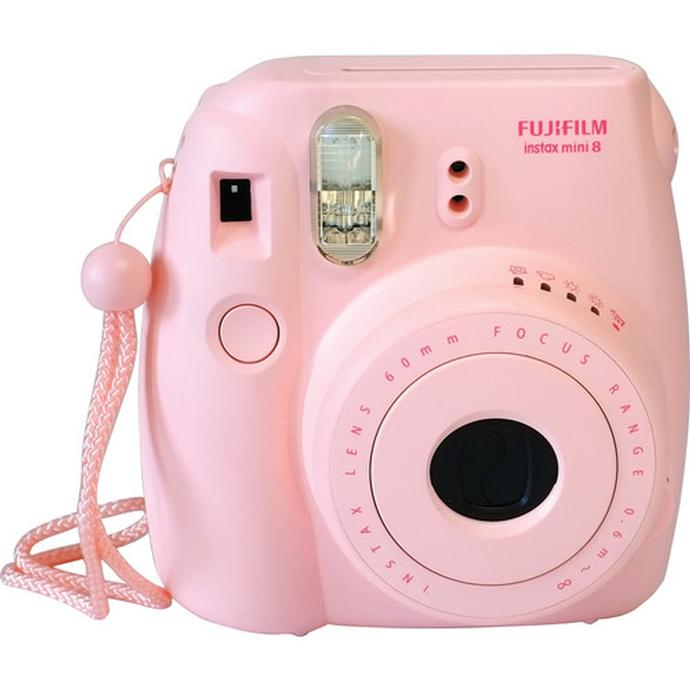 Fujifilm Instax Mini 8 Instant Film Camera - Pink   FujiFilm ...