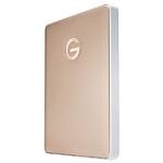 G-Technology 2TB G-DRIVE Mobile USB-C Portable External Hard Drive -Gold