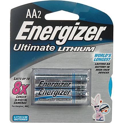 Energizer AA 2pk 9X Ultimate Lithium Battery L91BP2