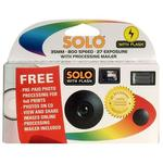 Solo Plus Disposable Film Camera 27 Exposures (Receive Prints And CD)