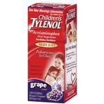 Tylenol Childrens Liquid 4oz (Currently GRAPE Flavor)-