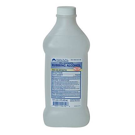 Rubbing Alcohol 16oz White