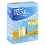 Tampax Pearl Tampons 18pack Regular Unscented