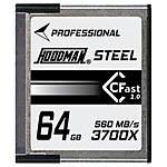 Hoodman CFAST 2.0 64GB, U3, 4K 455MB/s