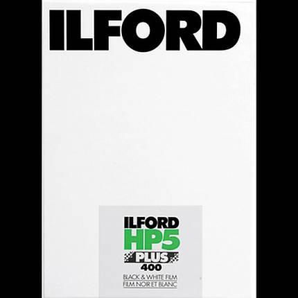 Ilford HP5 Plus 4x5 100 Sheets Black  and  White Negative (Print) Film (ISO-400)