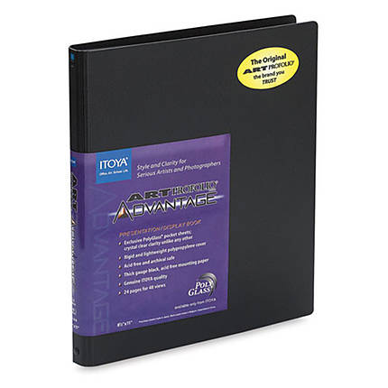 Itoya 4 x 6 In. Art Profolio Advantage Presentation Book (24 Pages)