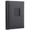 Unique Repositionable Album  20 Peel and Mount 8 x 10 Pages (Black Leather)