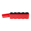 35MM Japan Camera Hunter 5 Roll Film Holder Red