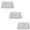 Kalt 16 x 20 In. Developing Tray (3 Sets)