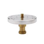 Kupo 1/4 Inch -20 Threaded Mounting Plate with Baby 5/8 Inch Stud