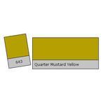 LEE Filters 1/4 Mustard Yellow Lighting Correction Gel Filter