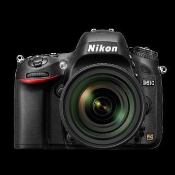 Nikon D610 24.3 MP CMOS Digital Camera with 24-85mm Lens-Black