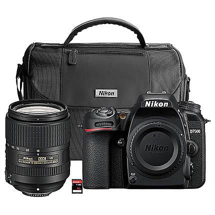 Nikon D7500 DSLR Camera with 18-300mm Lens Kit