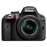 Nikon D3300 24.2 MP CMOS Digital Camera with AF-S 18-55mm VR II Lens-Black