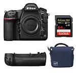 Nikon D850 FX-Format Digital SLR Camera (Black, Body Only)