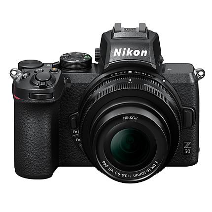 Nikon Z50 Mirrorless Digital Camera with 16-50mm Lens