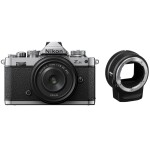 Nikon Z fc Mirrorless Digital Camera with 28mm Lens  and  FTZ Adapter